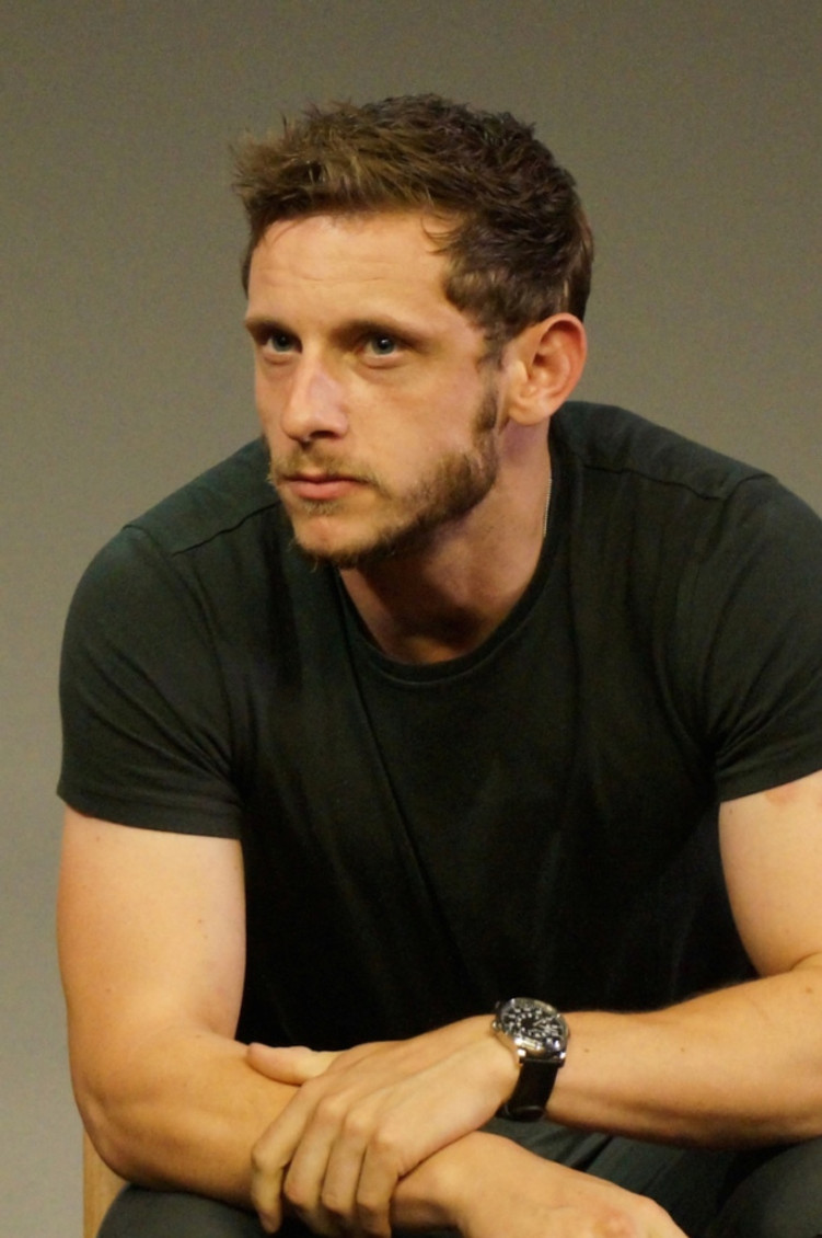 Jamie Bell discussing Fantastic Four at the Manhattan Apple Store.