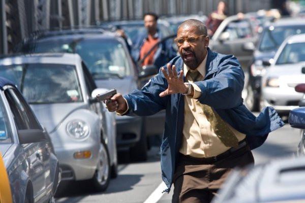 "Denzel Washington in ""The Taking of Pelham 1-2-3."""