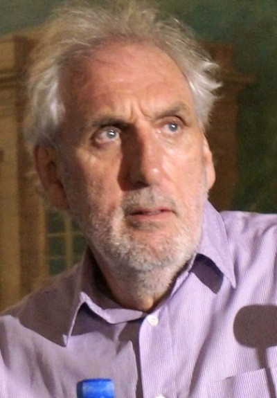"Director Phillip Noyce at the New York press conference for ""The Giver.""  Photo copyright 2014 Brad Balfour."