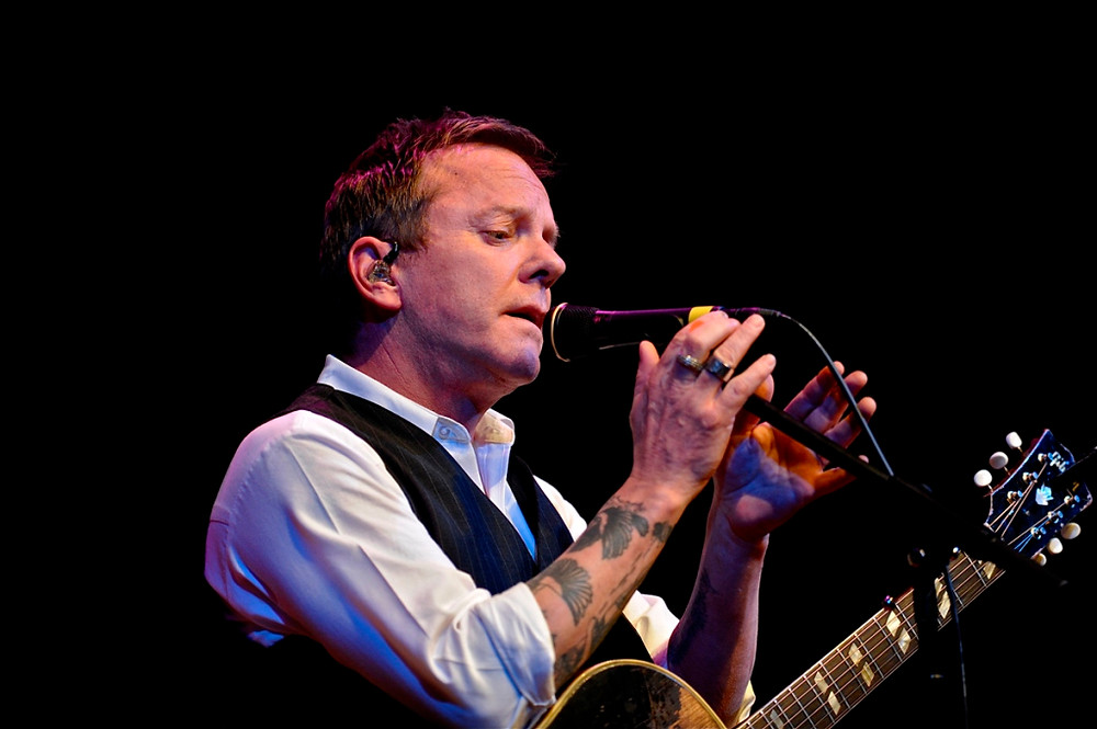 Kiefer Sutherland – World Cafe Live at the Queen - Wilmington, DE – May 11, 2016 - Photo by Jim Rinaldi © 2016.