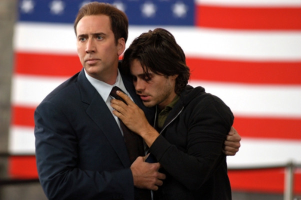 "Nicolas Cage and Jared Leto in ""Lord of War."""