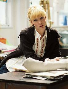 Cate Blanchett stars in Notes On a Scandal.