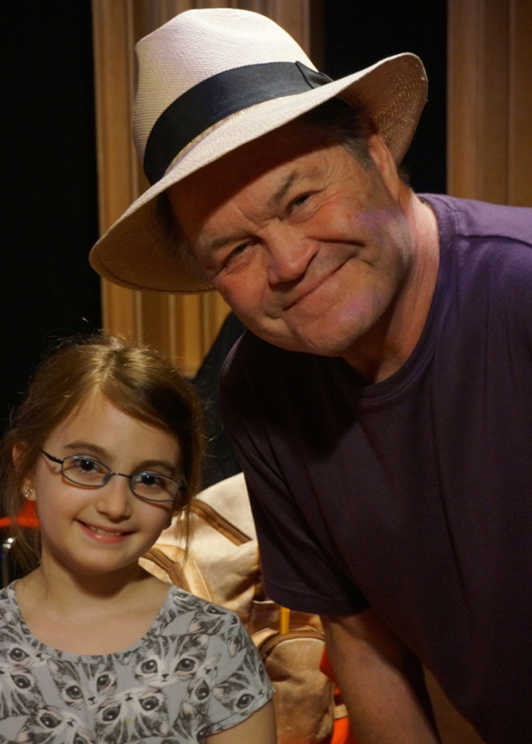 Micky Dolenz and Meredith