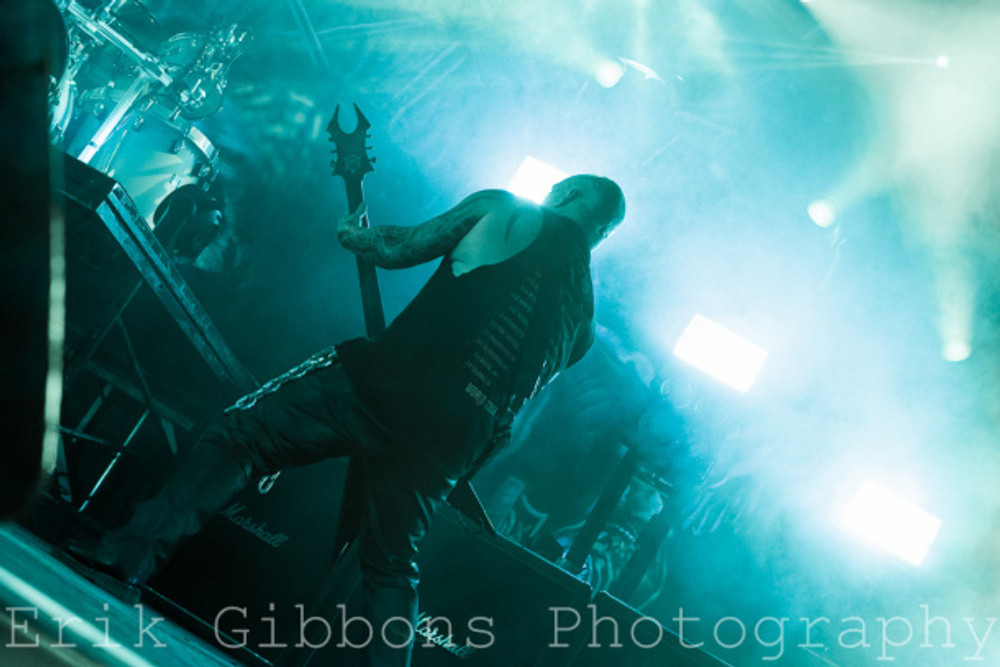 Slayer - The Fillmore - Philadelphia, PA - March 3, 2016 - Photo by Erik Gibbons © 2016