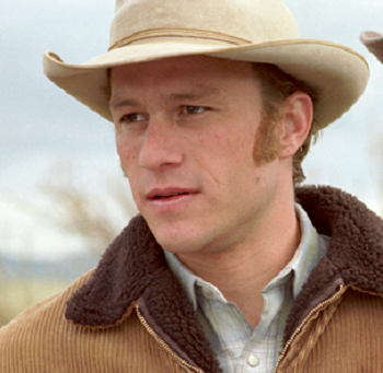 Heath Ledger Makes His Stand on Brokeback Mountain
