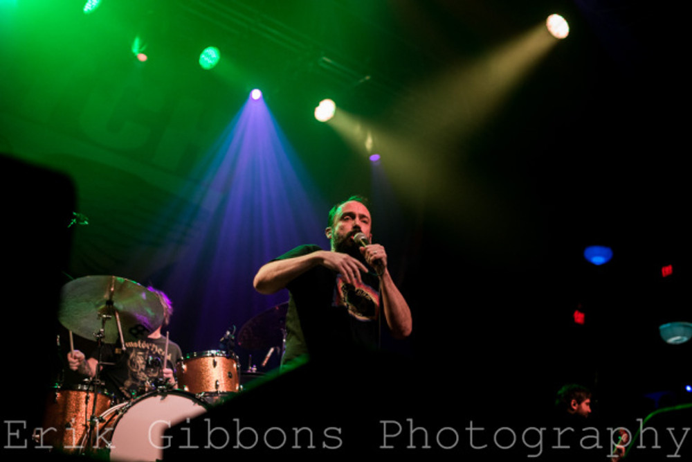 Clutch – Electric Factory – Philadelphia, PA –12/28/2015 - Photo by Erik Gibbons © 2015