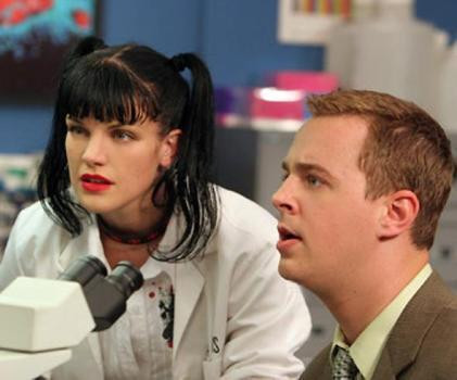 """Pauley Perrette and Sean Murray in """"NCIS."""""""