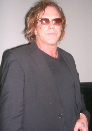 """Mickey Rourke at the New York press day for """"The Wrestler."""""""