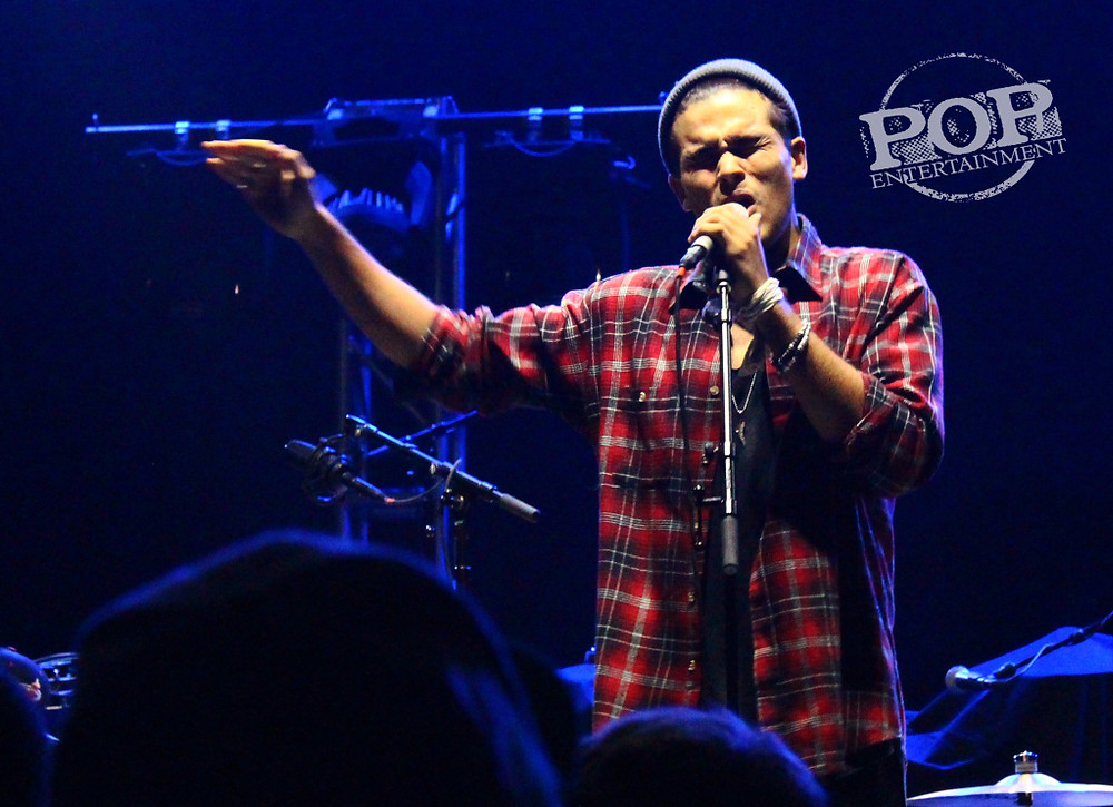 Roméo Testa performing at the Union Transfer in Philadelphia on October 12. Photo copyright 2014 by Ally Abramson.
