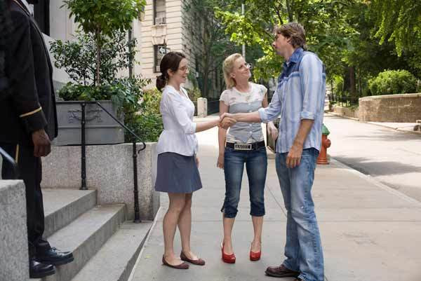"""Tina Fey, Amy Poehler and Dax Shepard in """"Baby Mama."""""""