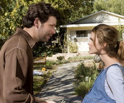 """Jeremy Sisto and Keri Russell in """"Waitress."""""""