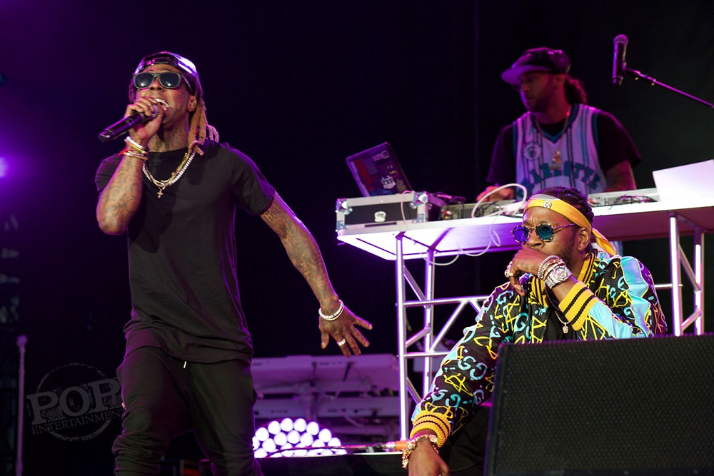 ColleGrove (2 Chainz and Lil Wayne) at Made In America Festival