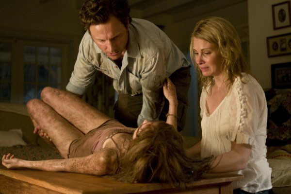 """Tony Goldwyn, Sara Paxton and Monica Potter in """"The Last House on the Left."""""""