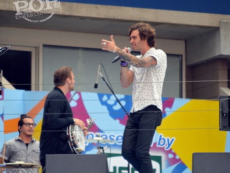 American Authors Interview at Arthur Ashe Kids Day