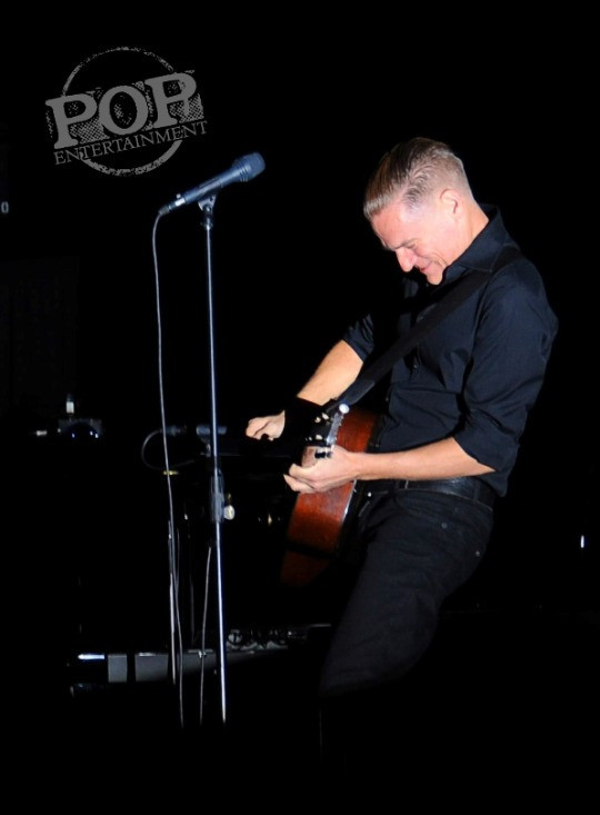 Bryan Adams live at the Tower Theater, Upper Darby, PA Oct 23, 2014.  Photos copyright 2014 Deborah Wagner.