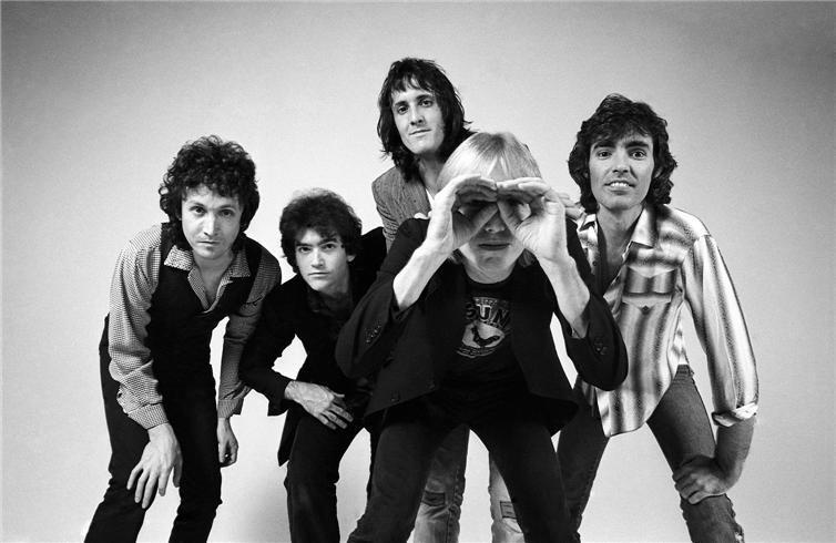 Tom Petty & the Heartbreakers in 1981.