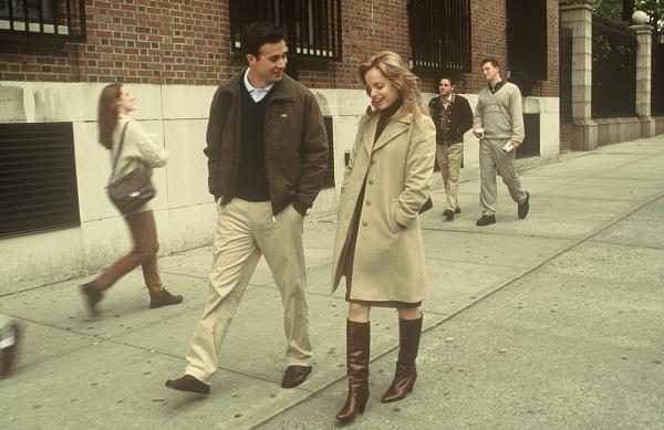 "Freddie Prinze, Jr. and Mena Suvari in ""Brooklyn Rules."""