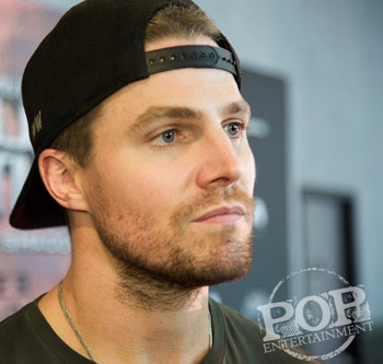 Stephen Amell Better Watch His Speed