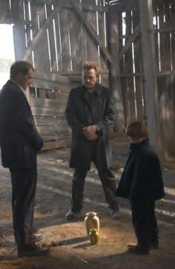"Josh Lucas, Christopher Walken and Jonah Bobo star in ""Around the Bend."""
