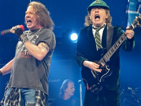 AC/DC featuring Axl Rose – Wells Fargo Center – Philadelphia, PA – September 20, 2016 (A PopEntertai