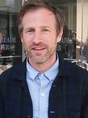 Spike Jonze at the NYFF screening of 'Her.'
