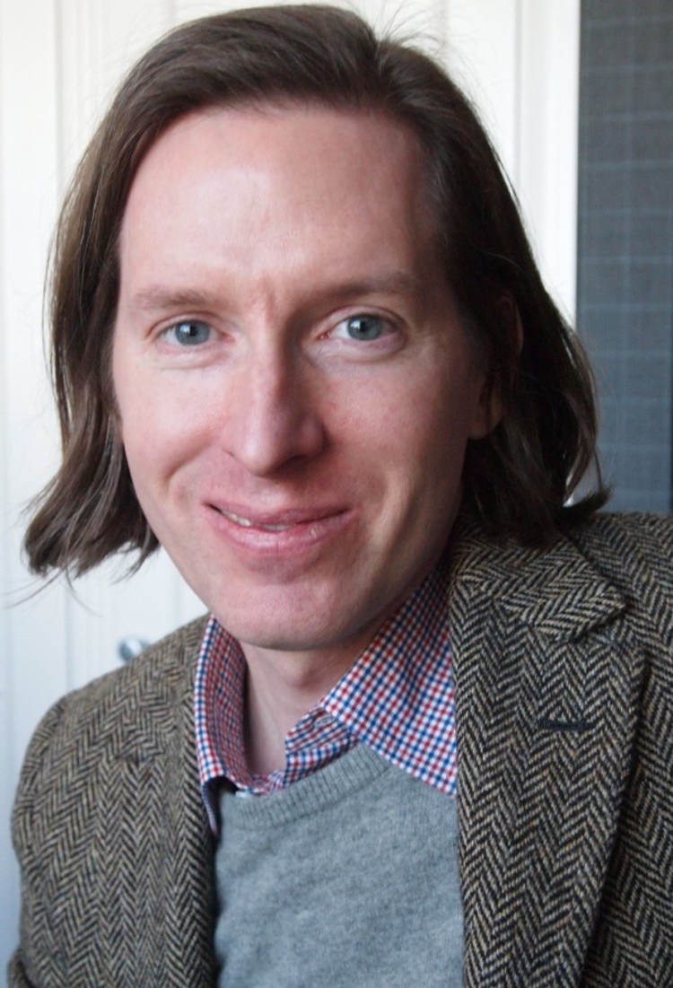 """Wes Anderson at the NY press day for """"The Grand Budapest Hotel.""""  Photo copyright 2014 Brad Balfour."""