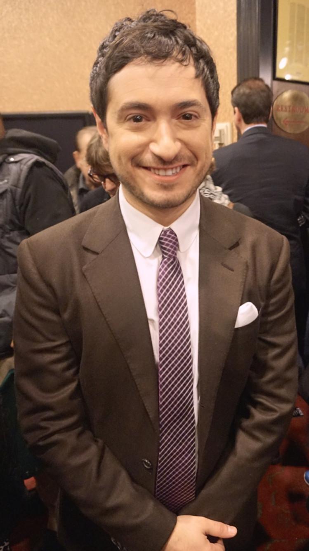 Screenwriter Jason Fuchs at the NY Press Day for PAN.
