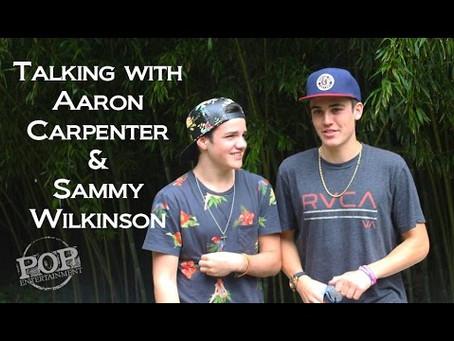 Talking Music with Sam Wilkinson & Aaron Carpenter