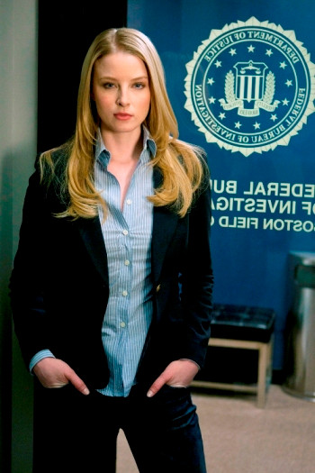 """Lauren"" -- Rachel Nichols as Agent Ashley Seaver on the CBS drama CRIMINAL MINDS, scheduled to air on the CBS Television Network. Photo: Matt Kennedy/CBS ©2011 CBS Broadcasting Inc. All Right Reserved."