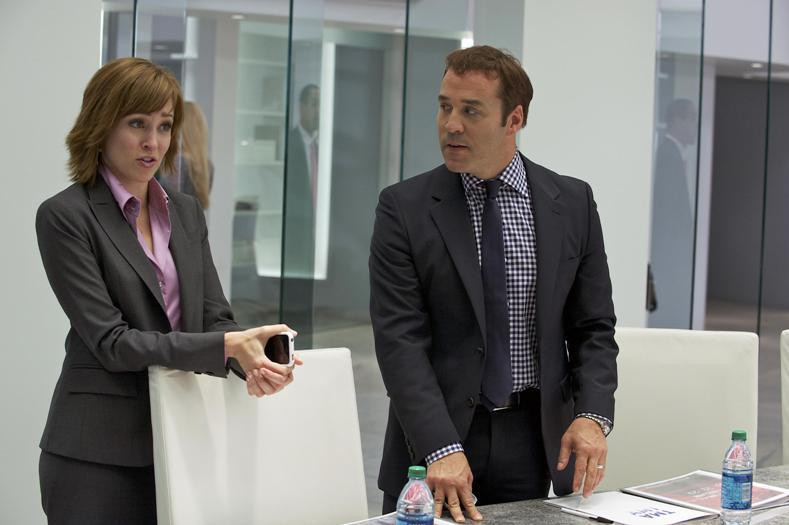 "Autumn Reeser and Jeremy Piven in ""Entourage."""