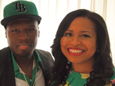 """Curtis """"50 Cent"""" Jackson and Courtney Kemp Agboh Have Got the Power"""