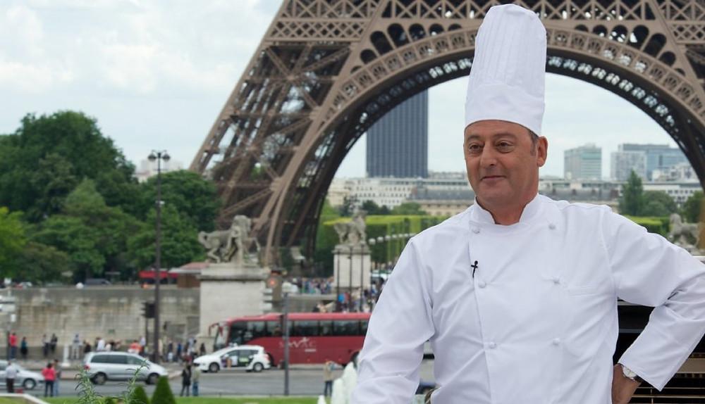 """Jean Reno in """"Le Chef."""""""