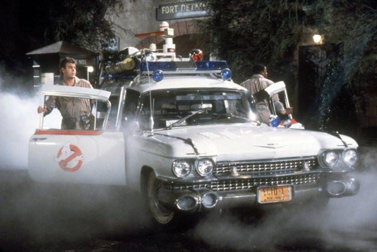 Dan Aykroyd and Ernie Hudson in 'Ghostbusters.'
