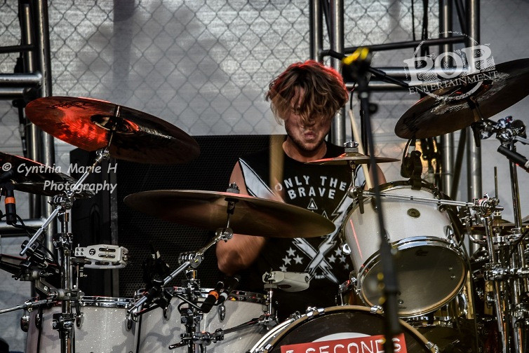 Ashton Irwin of 5 Seconds of Summer - Hollywood and Highland Center - Hollywood, CA - October 23, 2015 - photo copyright Cynthia Marie H.