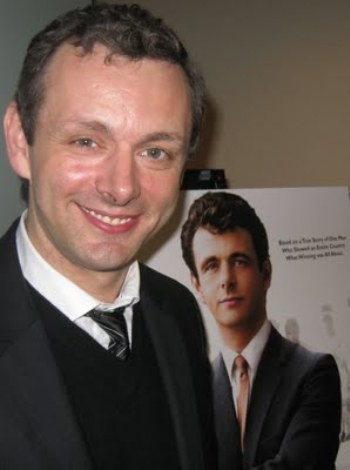 """Michael Sheen at the NY press day for """"The Damned United."""""""