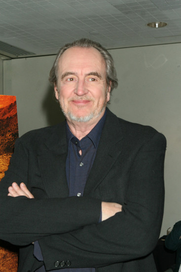 Feb. 24. 2007: Wes Craven at the green room before heading into the Special Events Hall for Q&A with fans for the Hill Have Eyes II during New York ComicCon 2007 located at the Jacob Javits Center. credit : Roger Wong/INFGoff.com Ref :Infusny-12