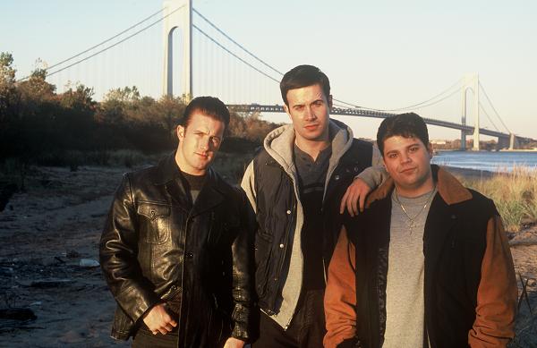 "Scott Caan, Freddie Prinze,Jr. and Jerry Ferrara in ""Brooklyn Rules."""