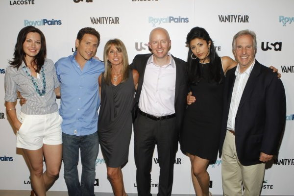 ROYAL PAINS -- The Royal Pains/Vanity Fair VIP In Store Event at Lacoste Fifth Avenue, New York City, Tuesday June 1st, 2010 -- Pictured: (l-r) Photo by: Jason DeCrow/USA Network