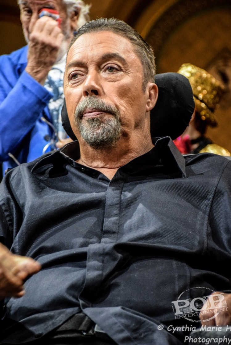 """Tim Curry at the Los Angeles celebration of the 40th Anniversary of """"The Rocky Horror Picture Show."""" Photo by Cynthia Marie H."""