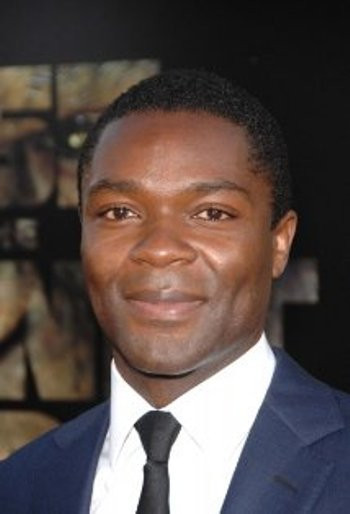 "David Oyelowo at New York press day for ""96 Minutes."""