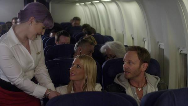 "Ian Ziering and Tara Reid star in ""Sharknado 2: The Second One."""