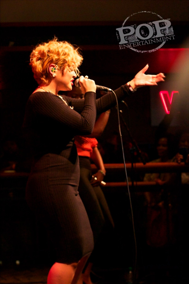 Tessanne Chin performing live at World Cafe Live in Philadelphia.  Photo copyright 2014 Ethan Serling/PopEntertainment.com.