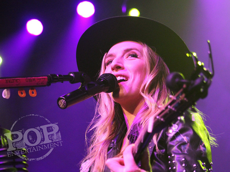 ZZ Ward, Billy Raffoul & Black Pistol Fire – TLA – Philadelphia, PA – February 13, 2018 (A PopEn