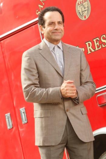 "MONK -- ""Mr.Monk's Favorite Show"" Episode 8001 -- Pictured: Tony Shalhoub as Adrian Monk -- USA Network Photo: Vivian Zink"