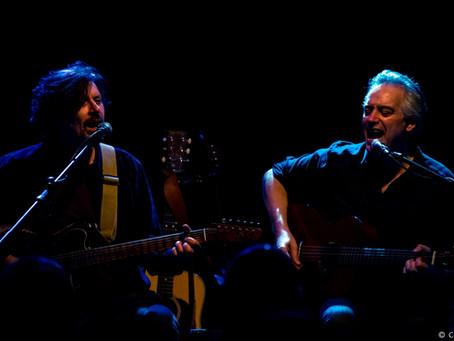 Wesley Stace and Eric Bazilian – Tin Angel – Philadelphia, PA – February 1, 2017 (A PopEntertainment