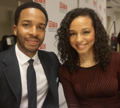 André Holland and Carra Patterson