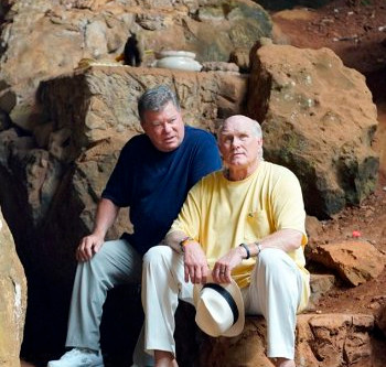 William Shatner & Terry Bradshaw – It's Never Too Late