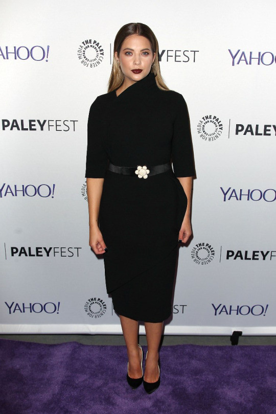 Ashley Benson at The Paley Center for Media's 3rd annual PaleyFest NY held a special event with the cast and creative team of ABC Family's Pretty Little Liars at The Paley Center for Media in New York City on October 11, 2015.