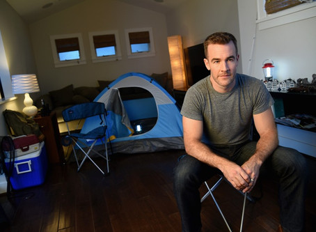 James Van Der Beek – CSI: Cyber Star Balances His Career and Life As a Dad