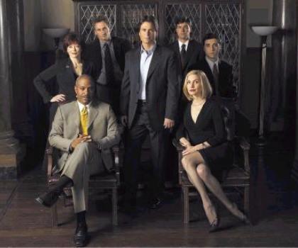"""The cast of """"The Lyon's Den."""""""